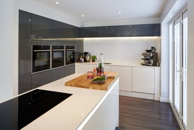 Linear Kitchen | Linear Kitchen Design | Case Study | More Kitchens