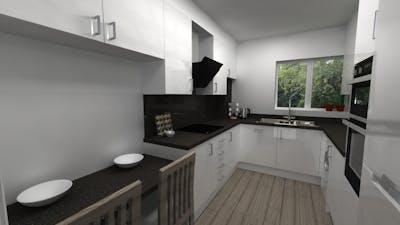 U - Shaped Kitchen