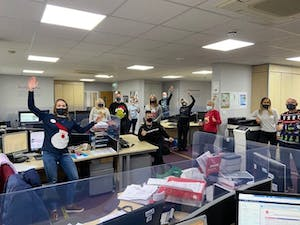 Passmore Group Christmas Jumper Day