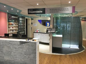 Harrogate Bathroom Showroom - full service design and installation.