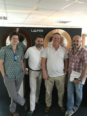 Our surveying and design team were recently invited to attended an away day at Laufen's training centre in Worcestershire.