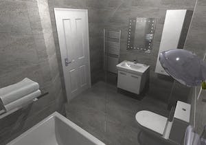 Bathroom Conversion - designed, supplied & installed
