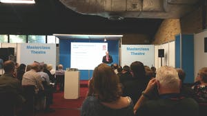 MD speaks at 2015 Federation of Master Builders Harrogate 'Home Building & Renovation' Conference.