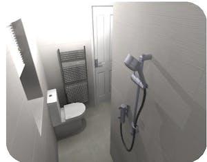 wet room in bradford