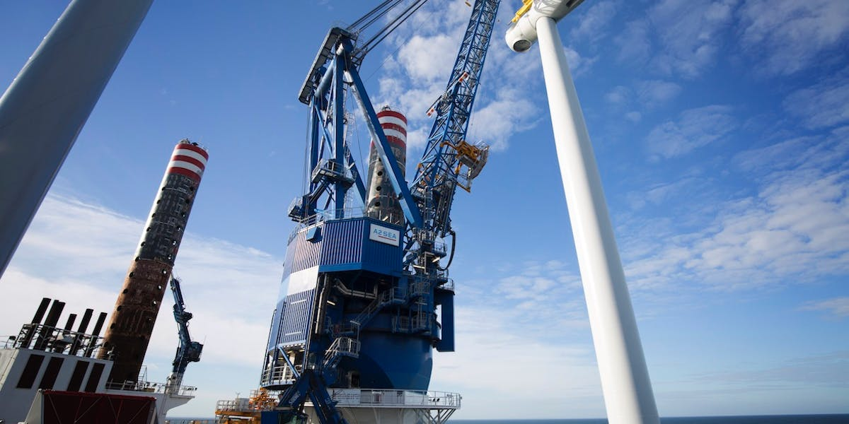 Offshore piling
