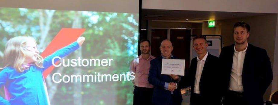 AXA award for Plumbcare.com