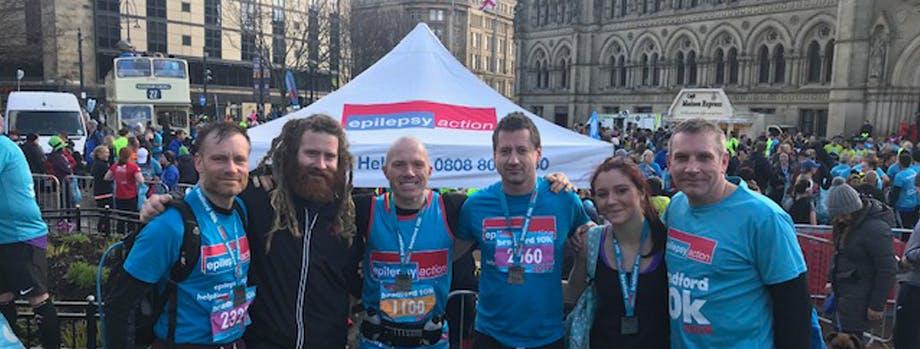 Plumbcare team completes Bradford 10K race