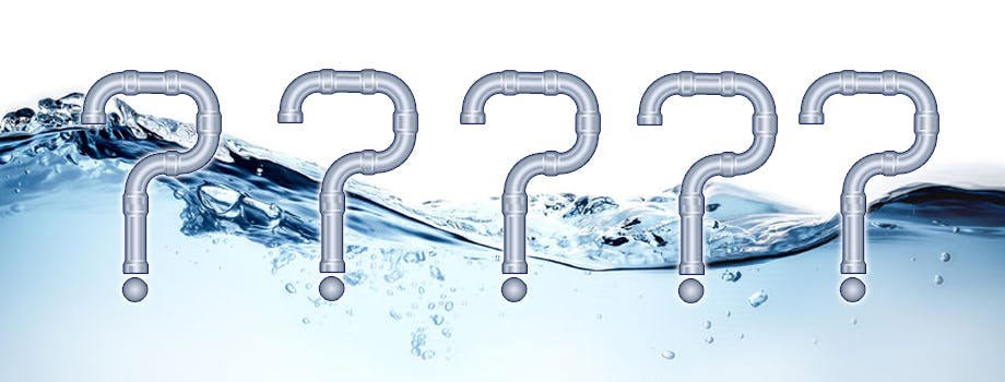 Frequently asked plumbing questions
