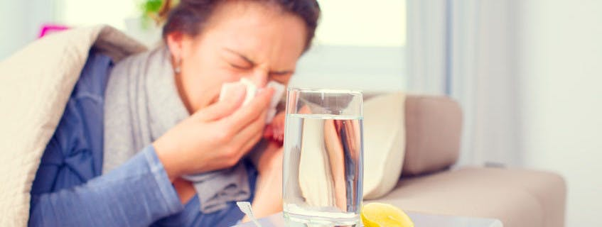 flu symptoms might be CO poisoning