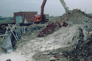 Slurry trench