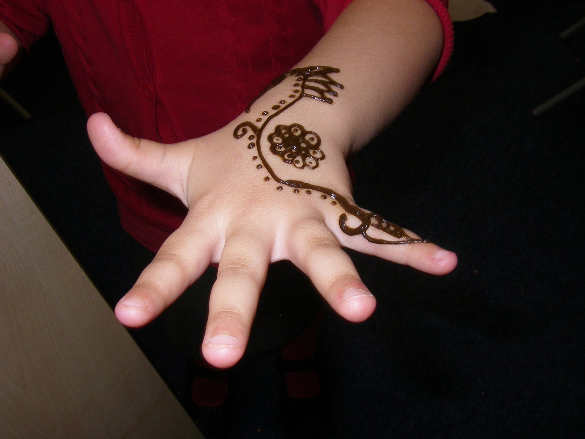 Henna Art in Foundation Stage