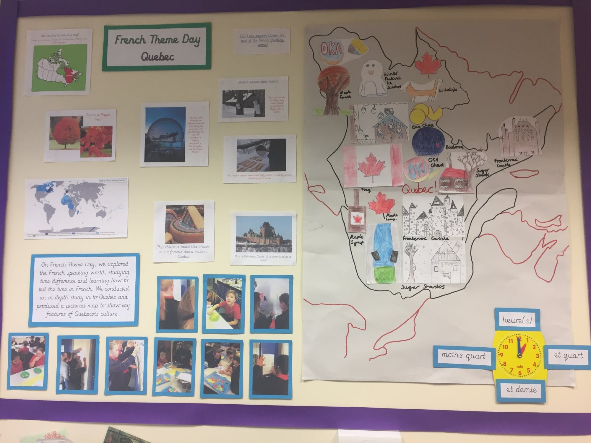 Map Of France For Ks2.Modern Foreign Languages Sandal Castle Primary Wakefield