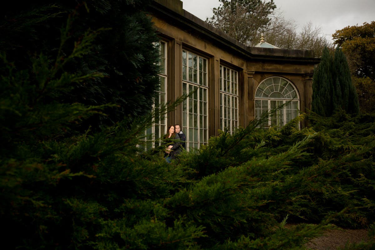 Engagement photography at Yorkshire Sculpture Park West Yorkshire