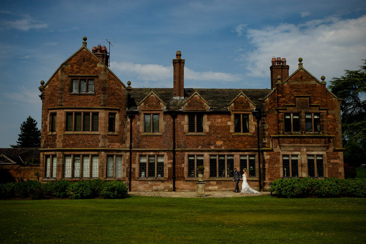 Colshaw Hall Country Estate Sarah Bruce Cheshire wedding photography