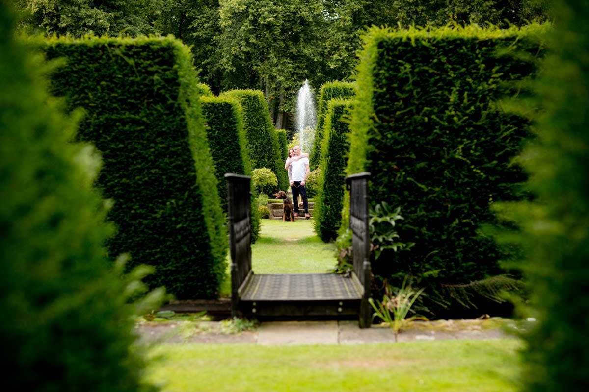 Renishaw Hall  & Gardens Derbyshire