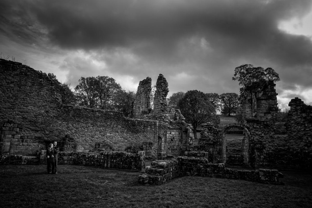 Photography at Fountains Abbey Ripon  North Yorkshire