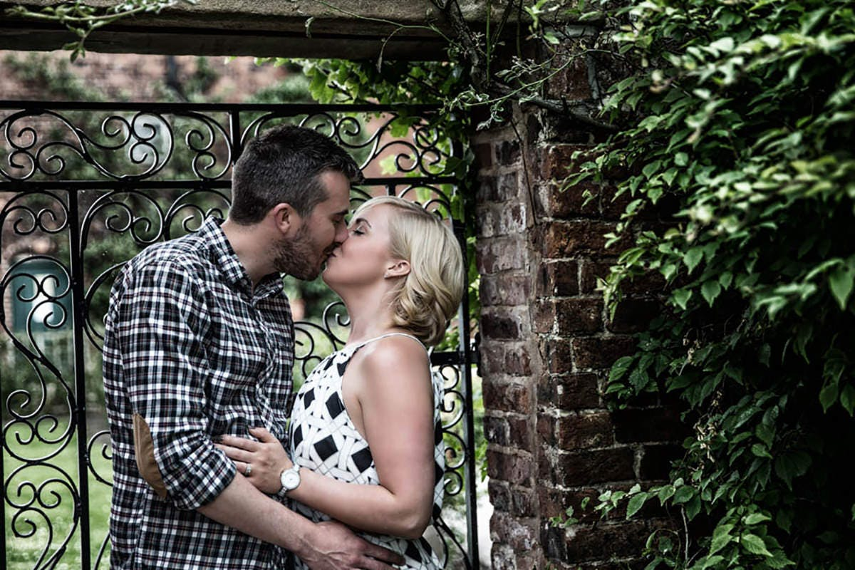 Catherine & Andys Engagement photography at Cannon Hall Park South Yorkshire