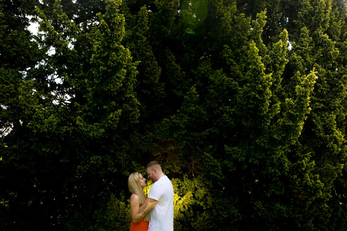 Wedding Photography by Sarah Bruce at the Yorkshire Sculpture Park Wakefield West Yorkshire
