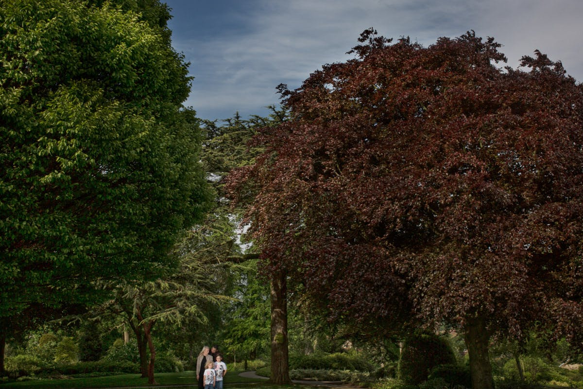 Engagement and wedding photography by Sarah Bruce at Cusworth Hall Museum Doncaster