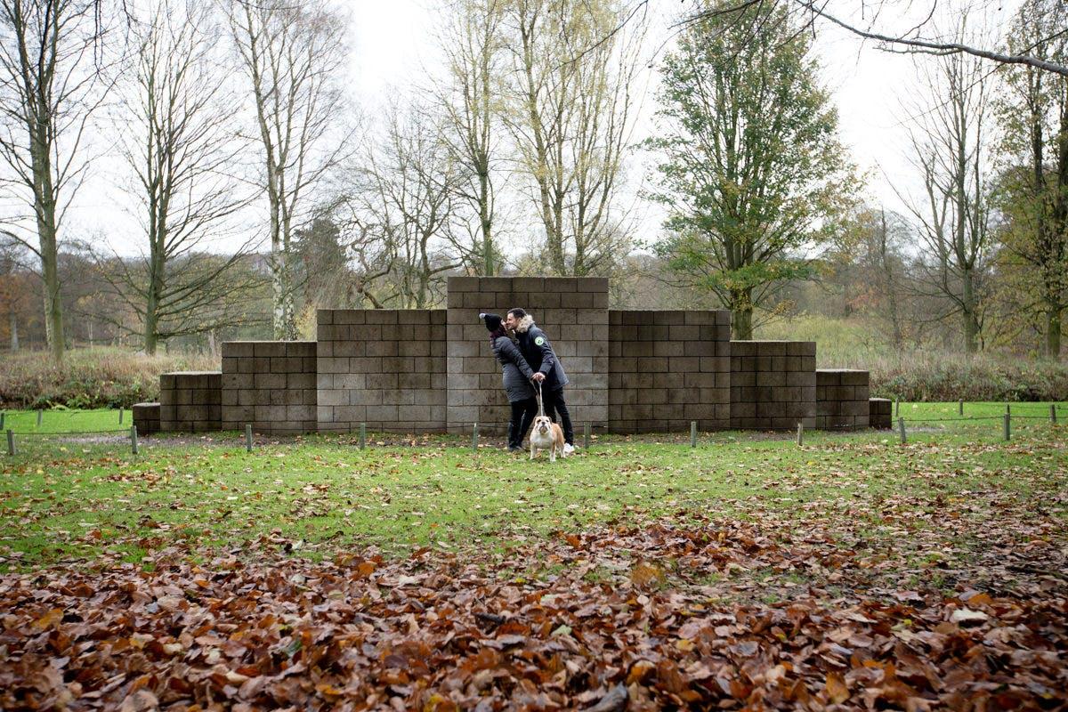 Denver & Pete Wedding photography at the Yorkshire Sculpture Park West Yorkshire
