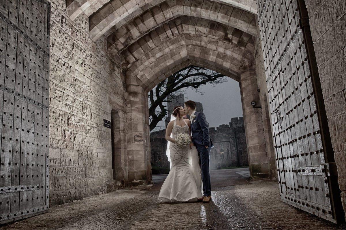 Cheshire wedding photography. Denver & Petes wedding at Peckforton Castle
