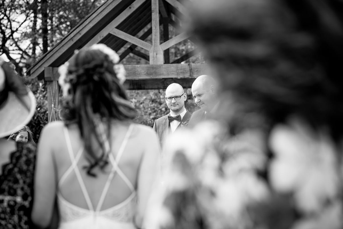 Helina & Richards Wedding Photography by Sarah Bruce  at Sandburn Hall in York
