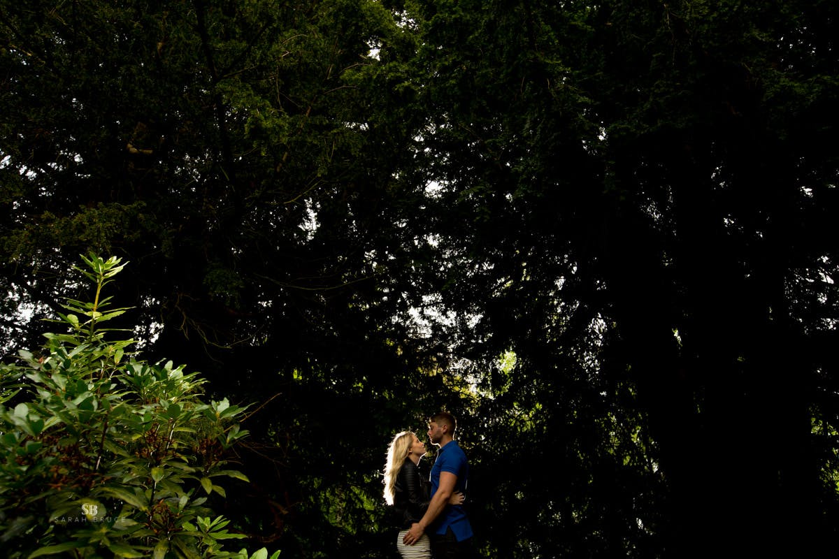 Tim & Jamies Engagement Photography by Sarah Bruce  at Cannon Hall Park South Yorkshire