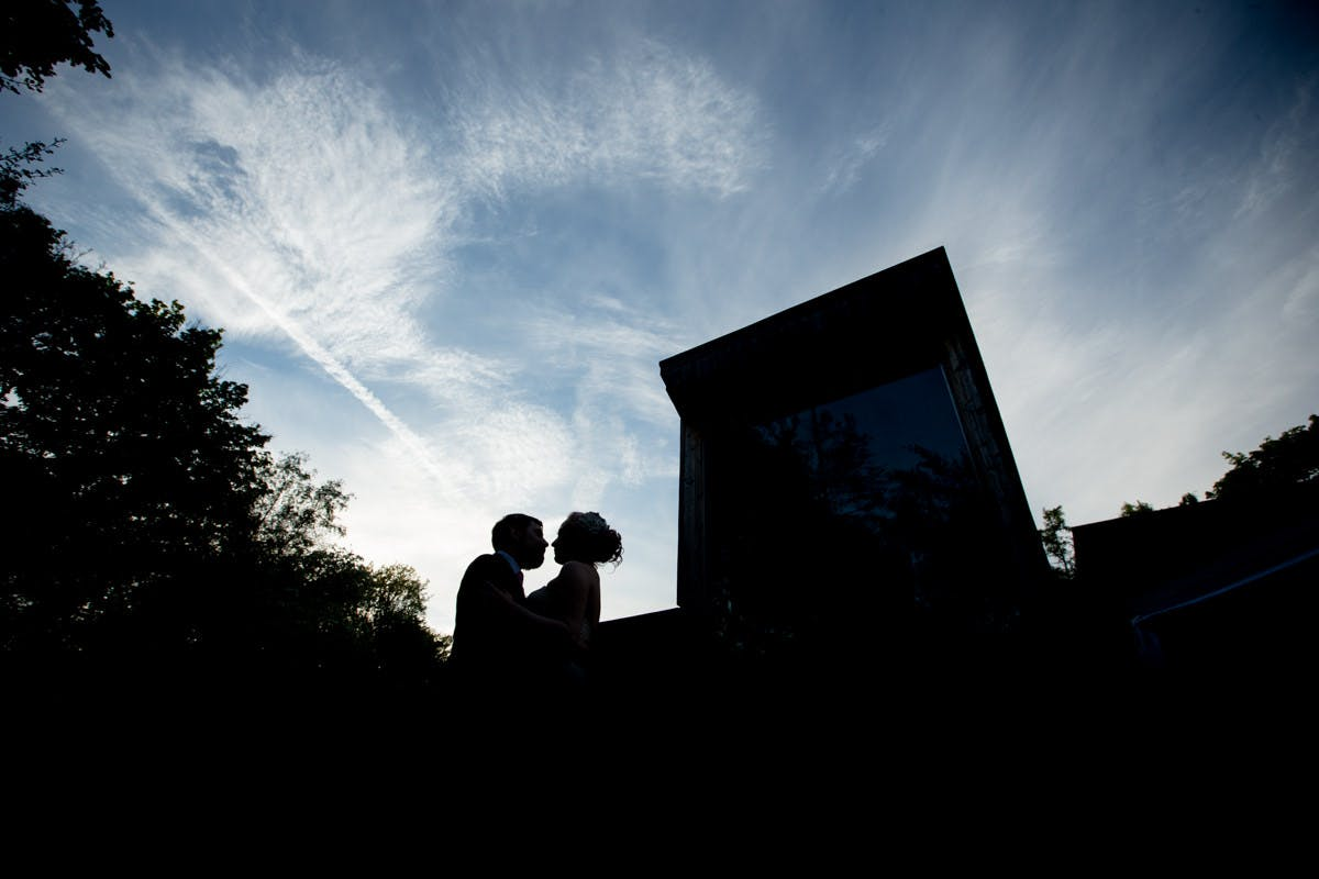 Woodland wedding photography by Sarah Bruce  at the Discovery Centre In Ecelsall Woods Sheffield South Yorkshire