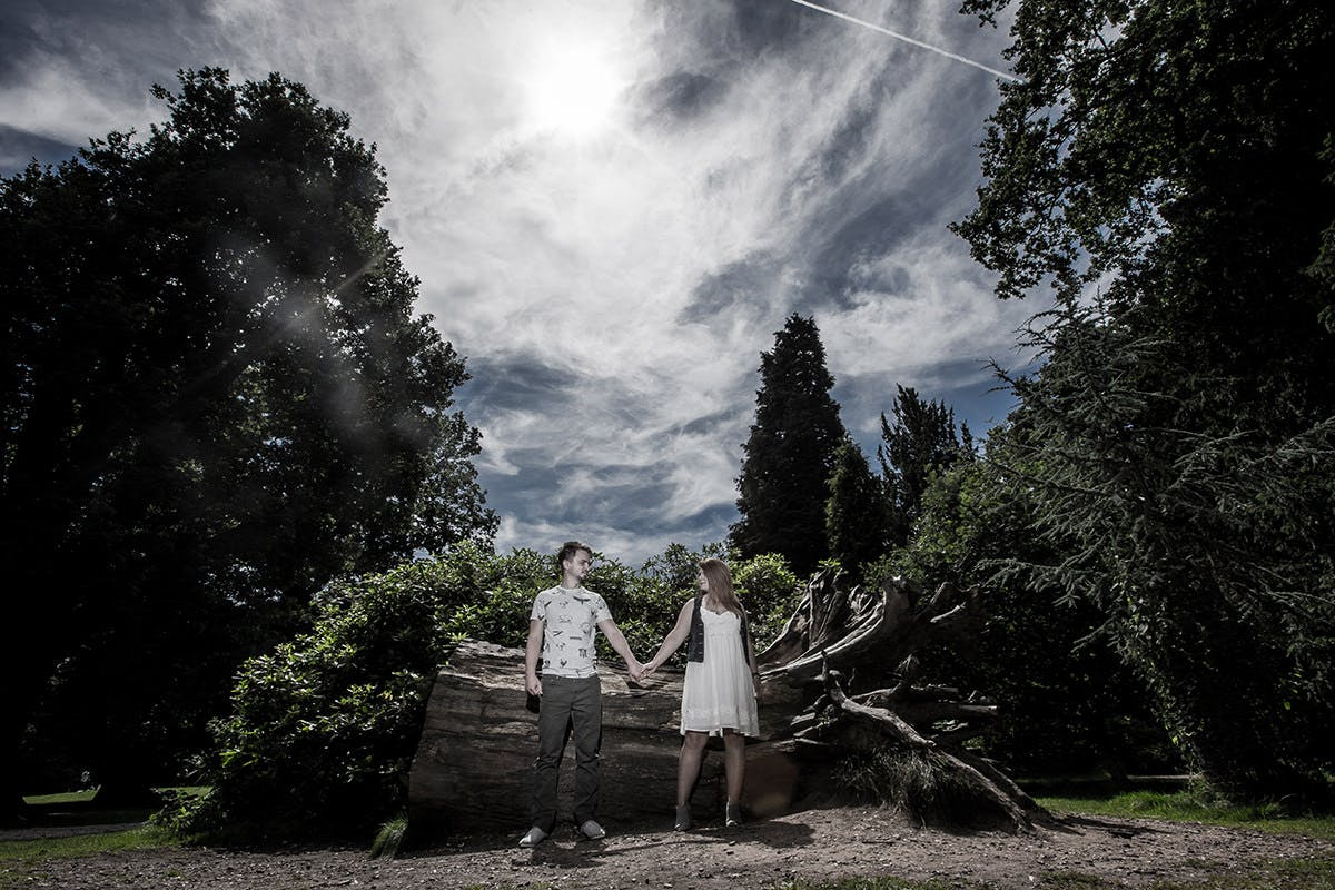 Engagement photography at Clumber Park - National Trust Park, Worksop