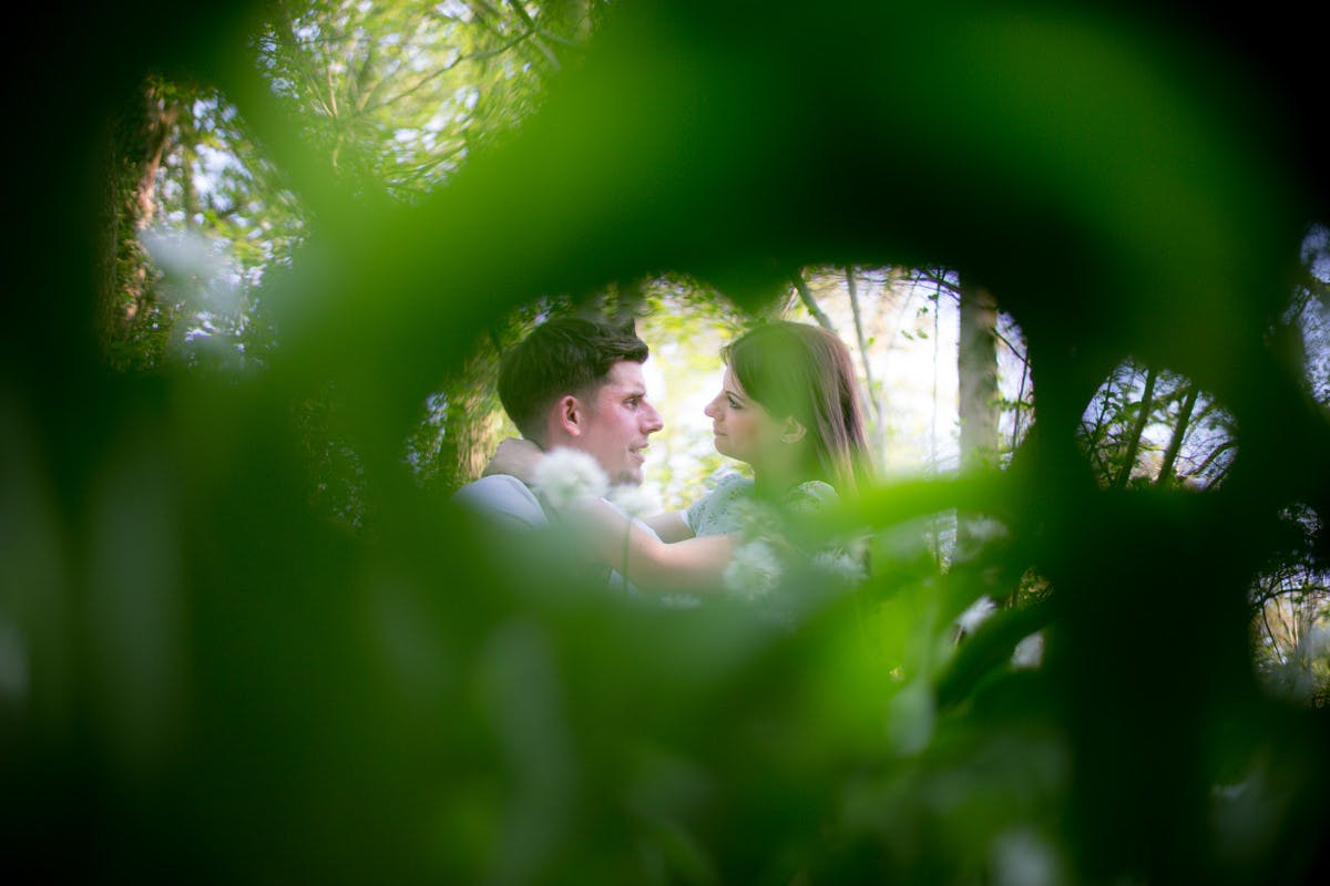 ​Jessica & Myles Engagement shoot Sheffield Forge