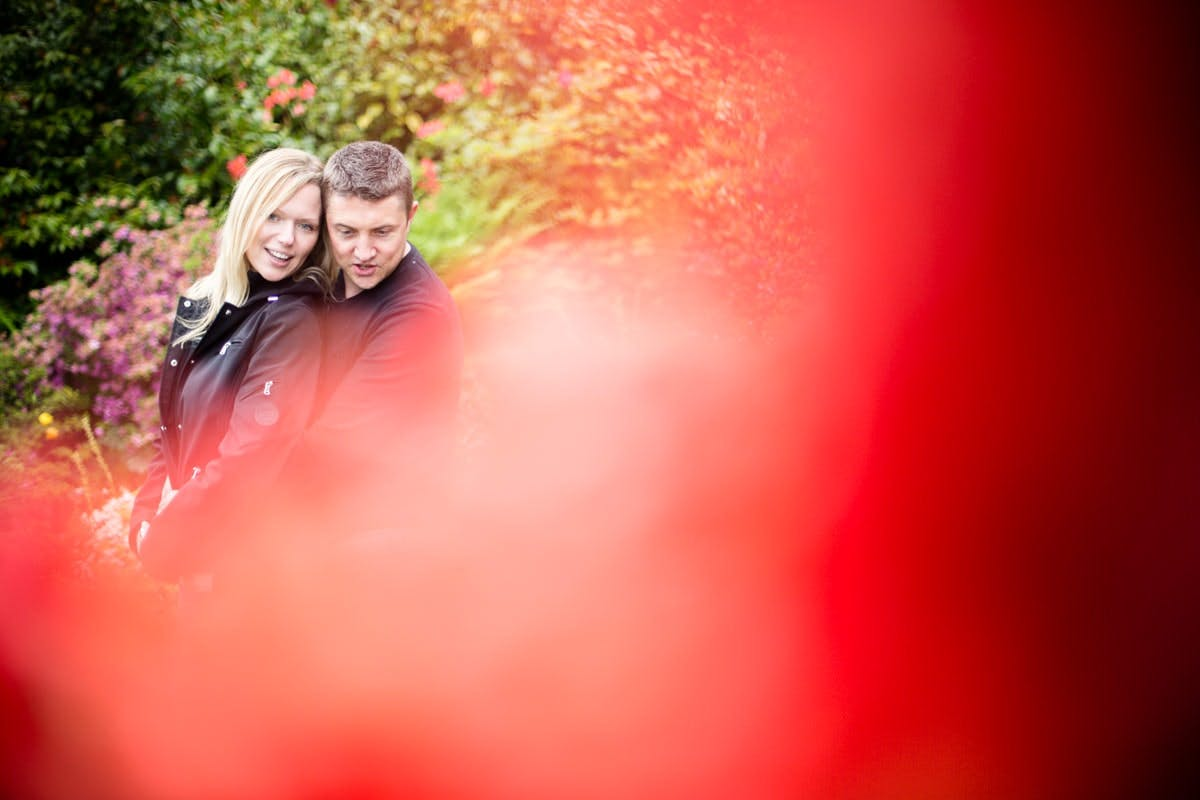 Engagement shoot Wentworth Castle and gardens Rotherham Sheffield