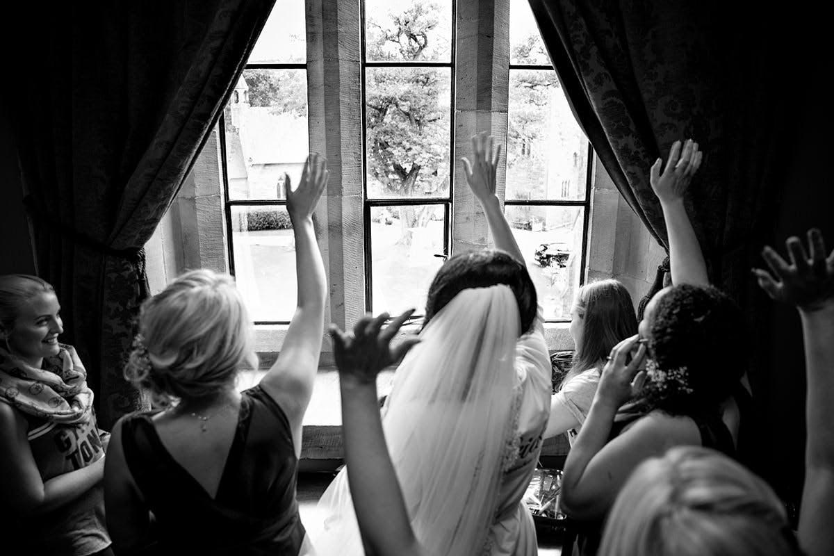 Natalie & Ian Wedding a Peckforton Castle