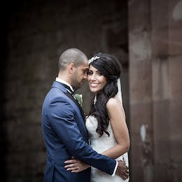 Cheshire wedding photography at Peckforton Castle