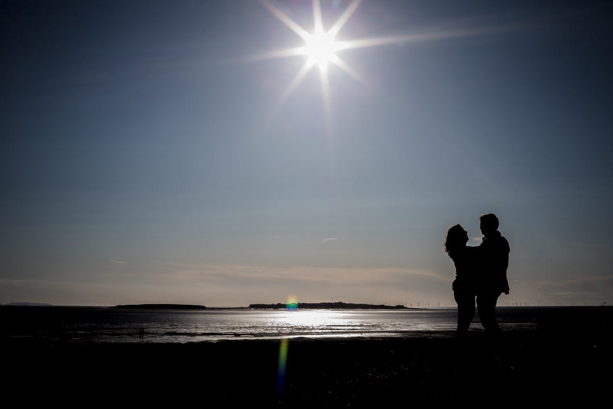 Engagement shoot on the Wirral Liverpool