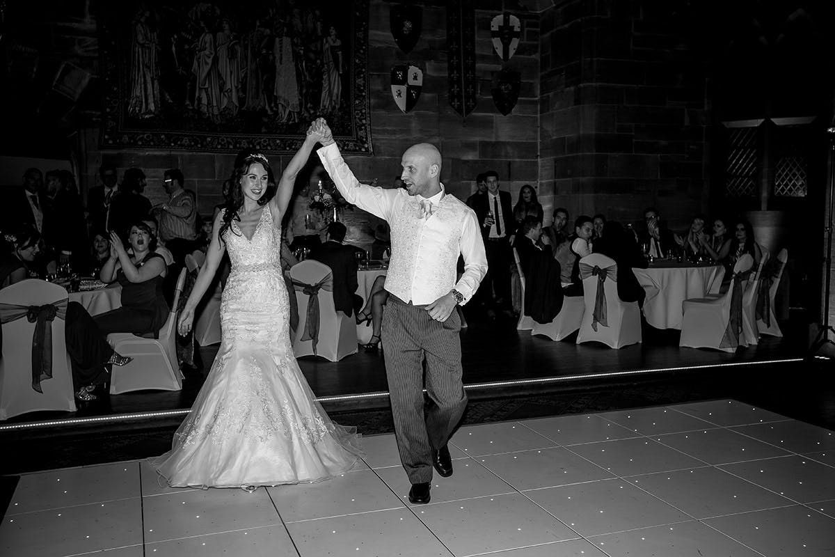Sam & Daves wedding at Peckforton Castle