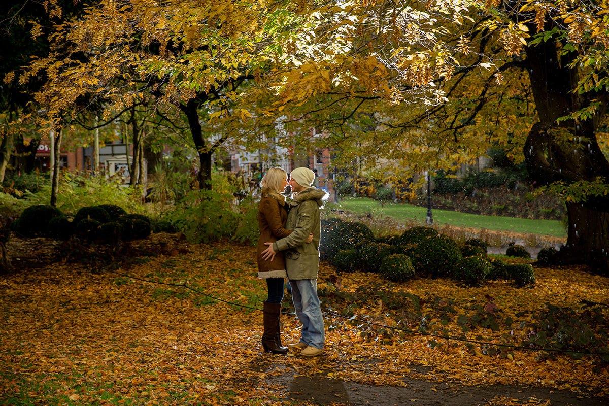 Samantha & Dave's Engagementn photogrpahy around York