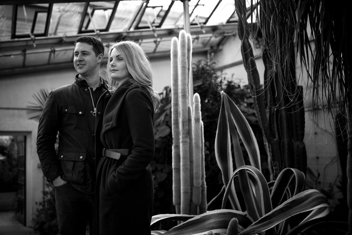 Engagement photography at Kelham Island Sheffield & The Botanical Gardens Sheffield