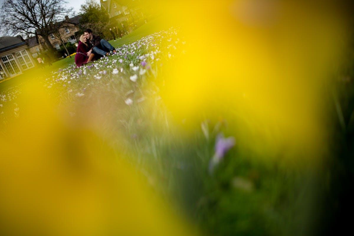 Engagement photography by Sarah Bruce at Kelham Island Sheffield & The Botanical Gardens Sheffield
