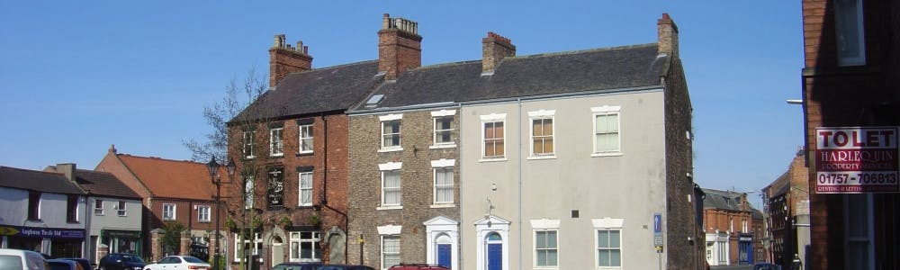 Church Hill buildings