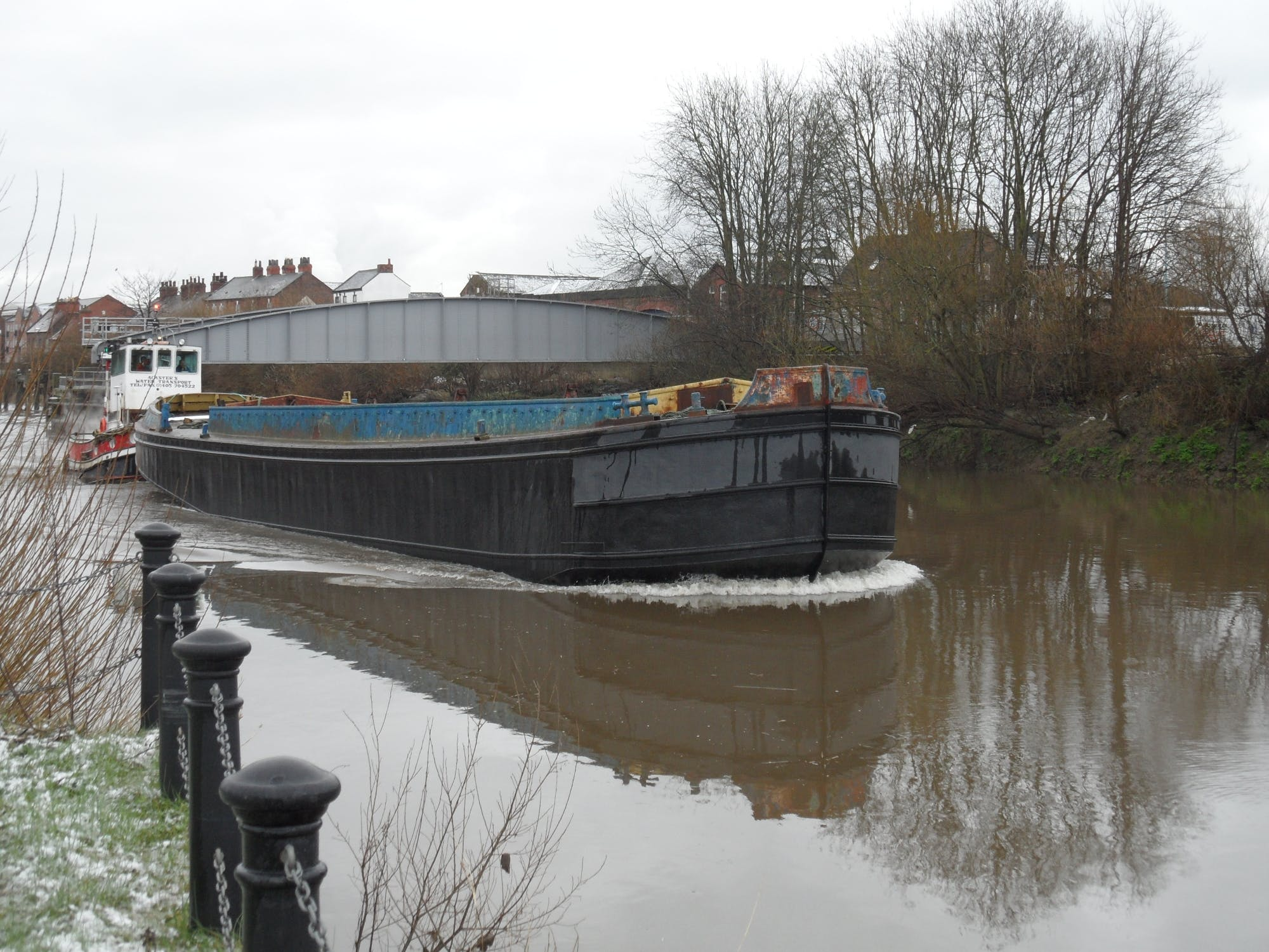 News | Former Selby cargo barge makes a final trip