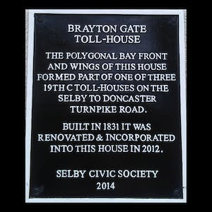 Toll House plaque