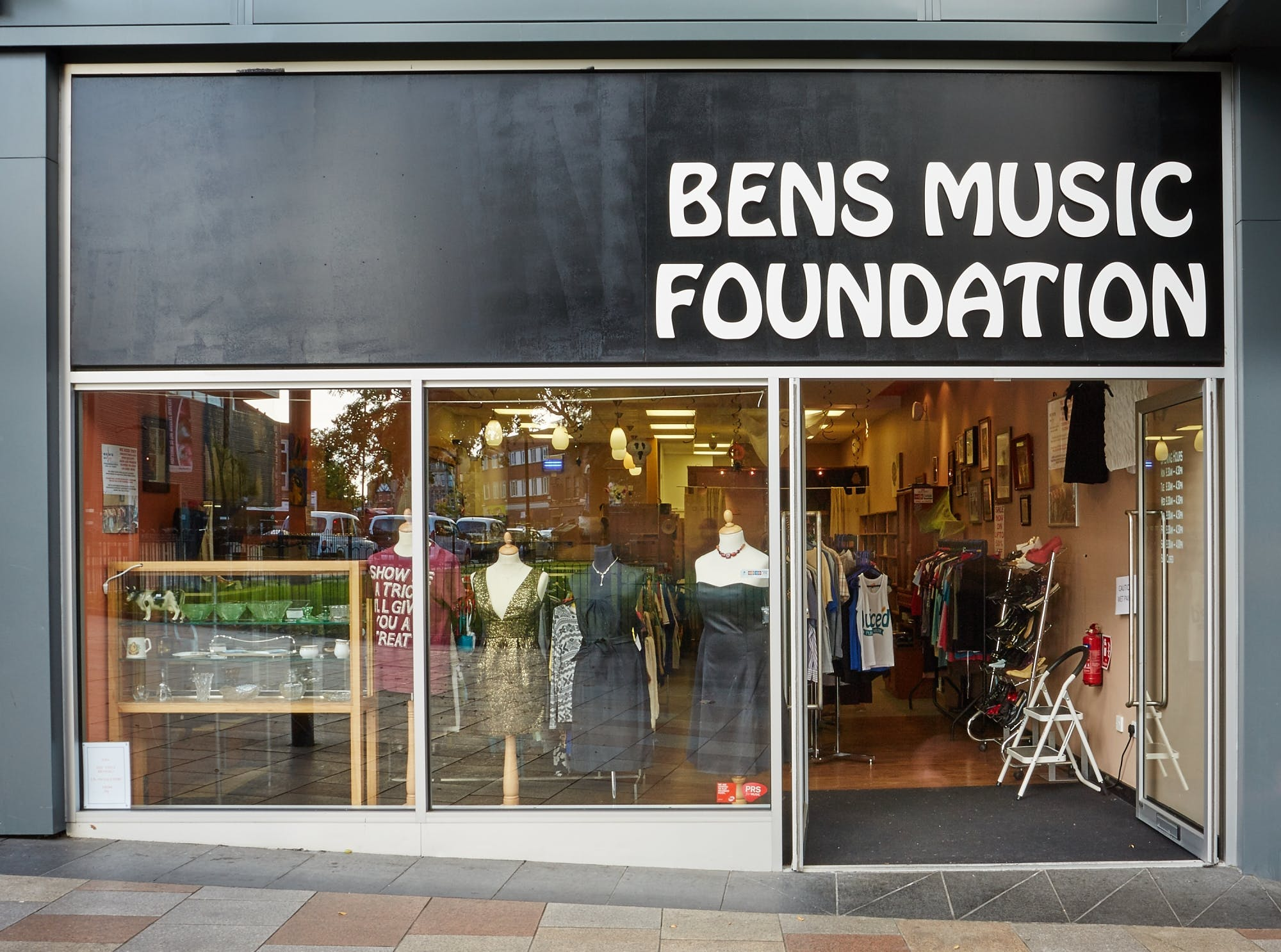 Ben's Music Foundation vintage boutique