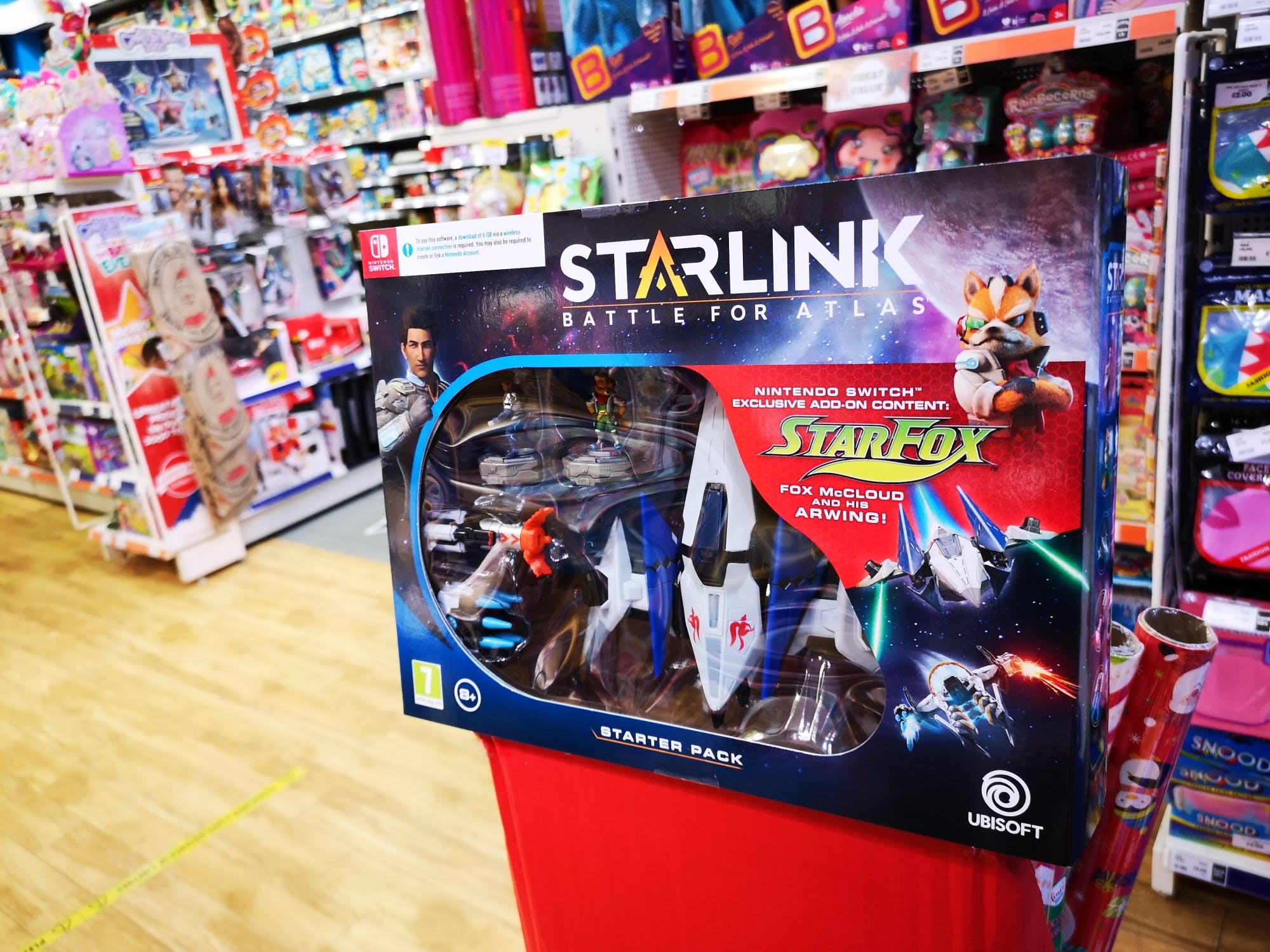 Deal alert for Nintendo Switch fans! Starlink interactive toy and game for just £7.99 at The Entertainer!