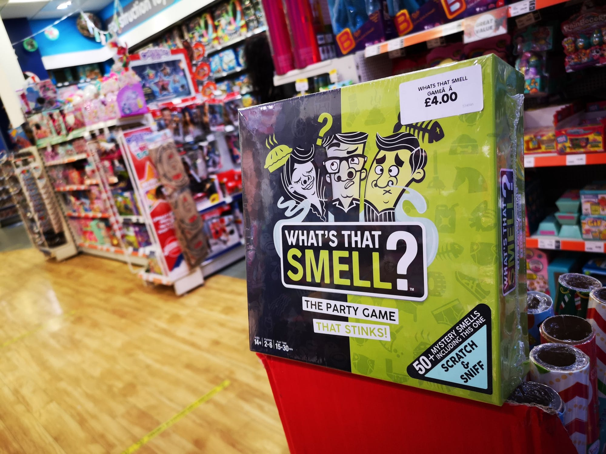 This could be THE game of Christmas - and it's set to cause a stink! On sale too at £4 The Entertainer