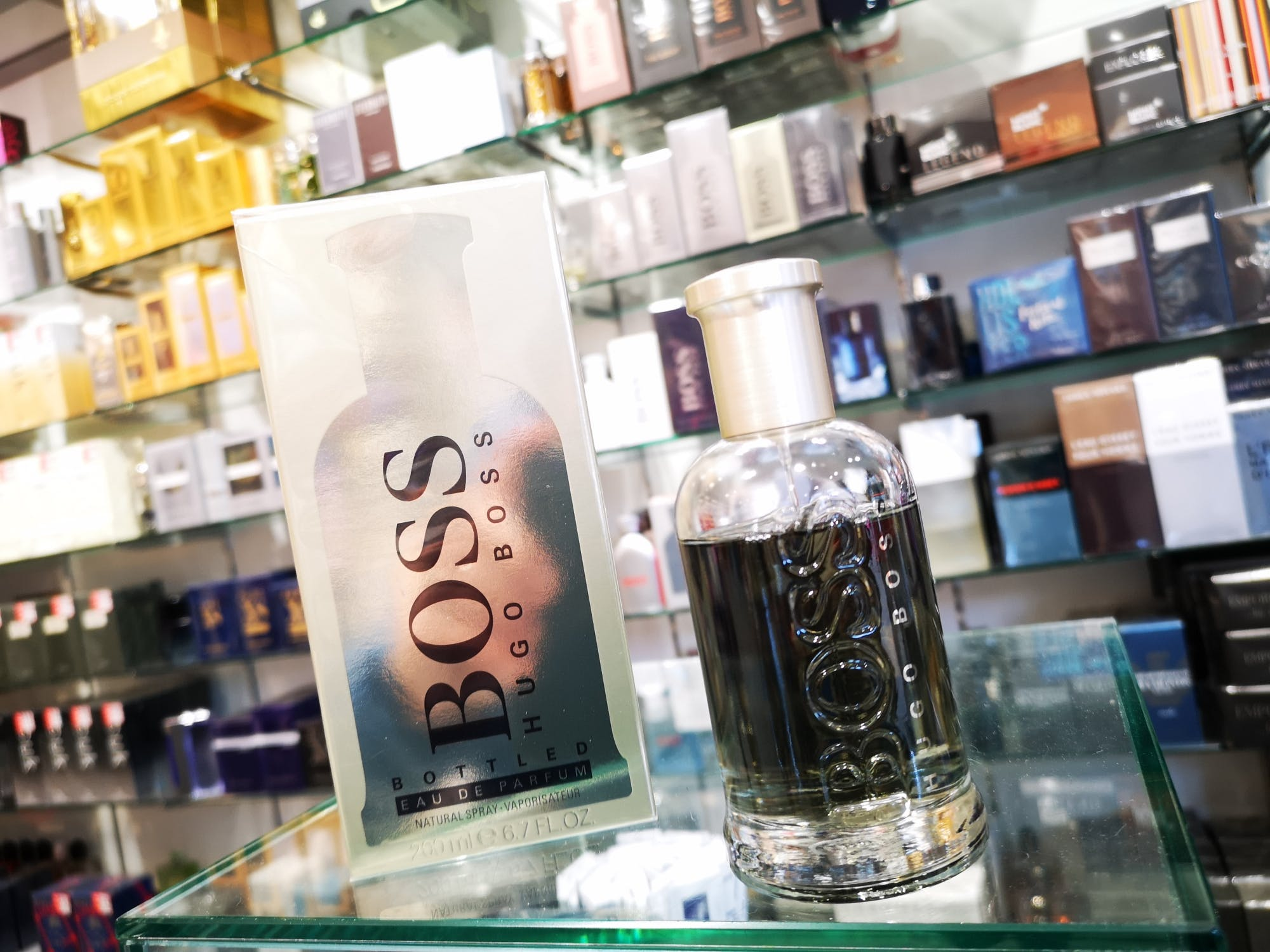 Boss is crafted for men with cinnamon oil as an eau de parfum meaning it lasts longer! From £54.50 at The Fragrance Shop.