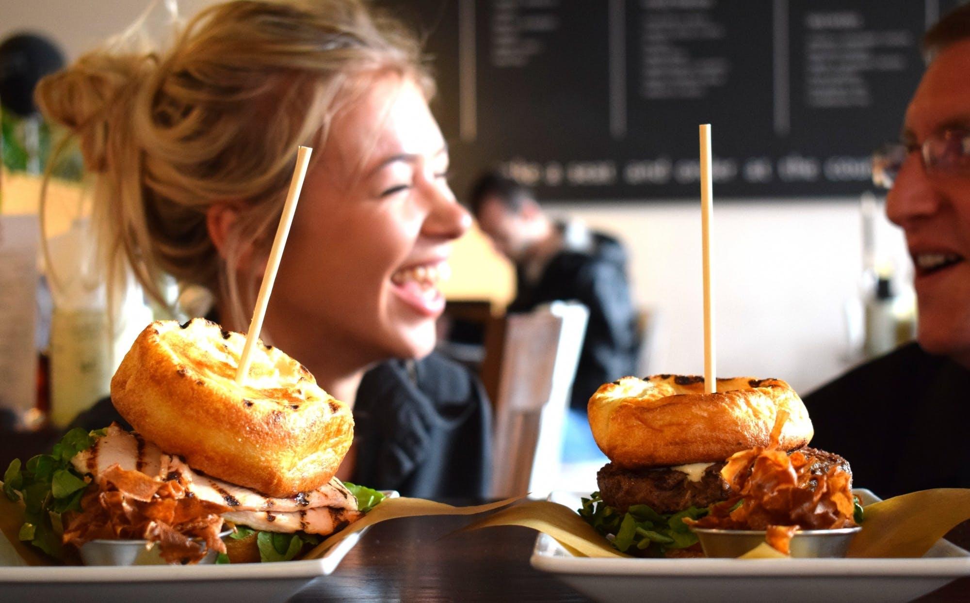 The Yorkie burger range