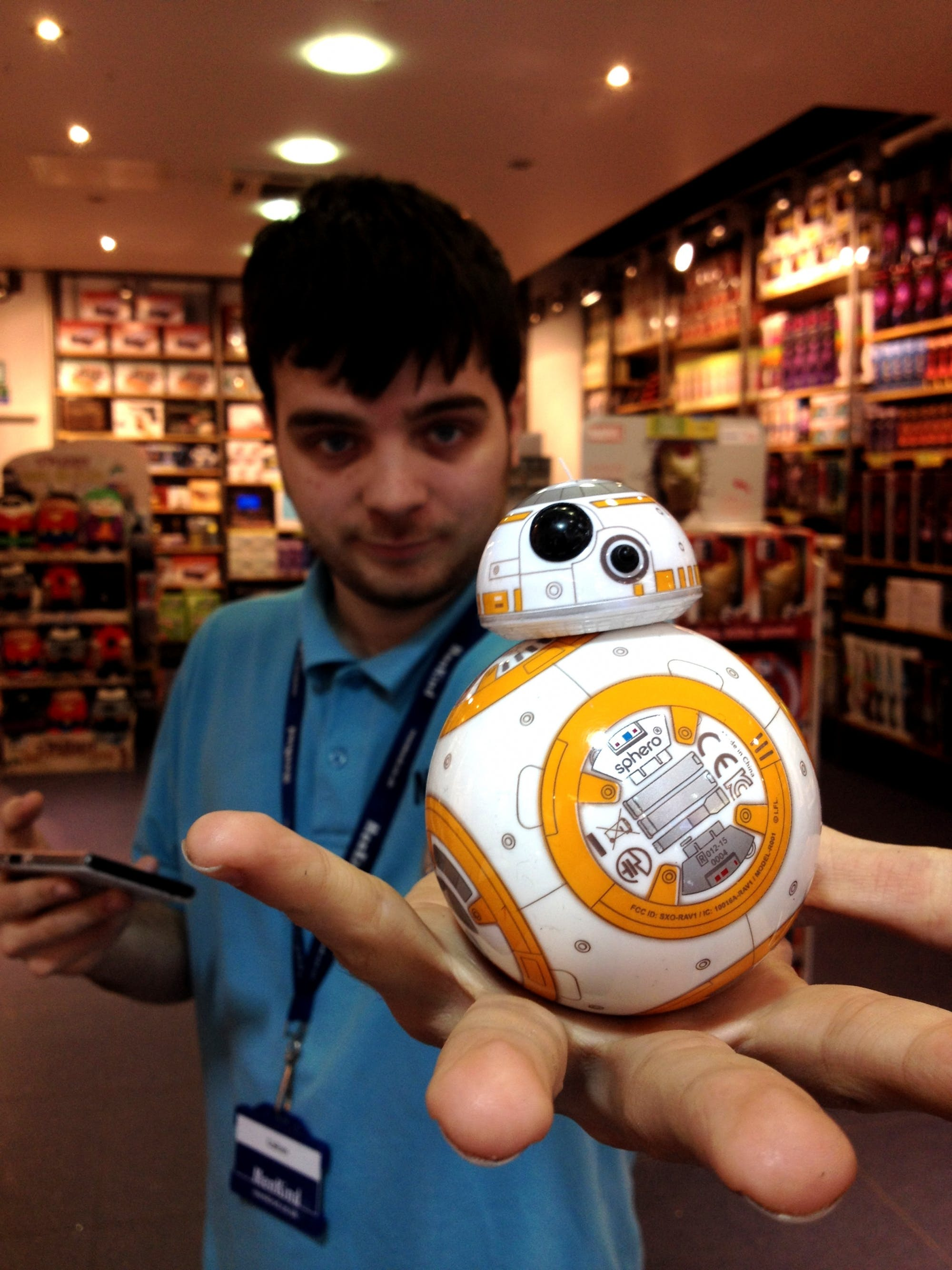BB8 Sphero at Menkind