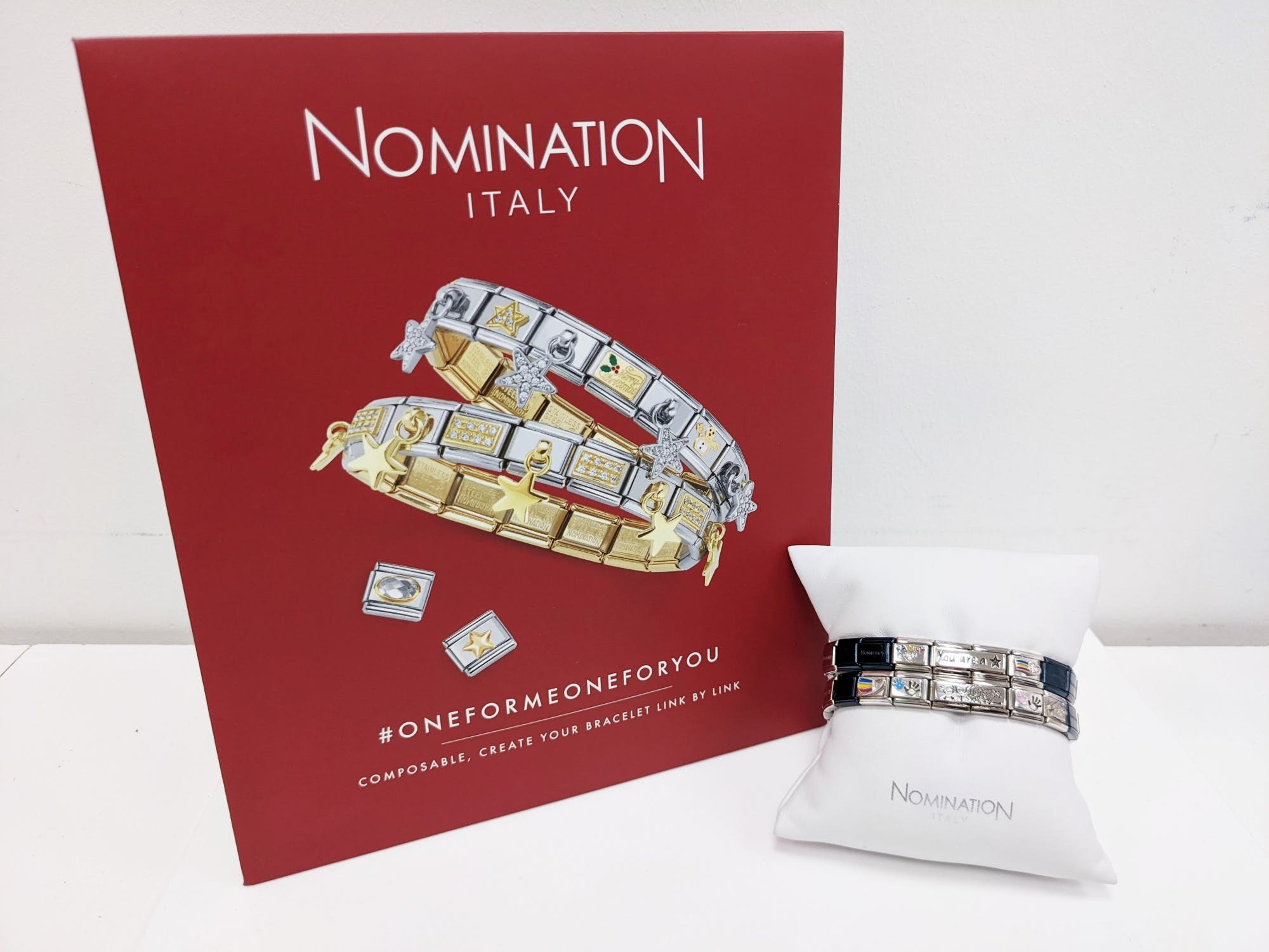 With more than 3,000 composable charms to choose from, choices almost never end at Nomination. The new Silver zirconia family charm, along with the sparkly heart with rainbow charms, are both proving veeeery popular at the mo' - they're just £29 too!