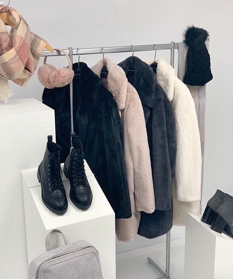 Every winter wardrobe needs a fluffy coat! Available in New Look in four fabulous colours, perfect layering piece to suit your festive plans this Christmas
