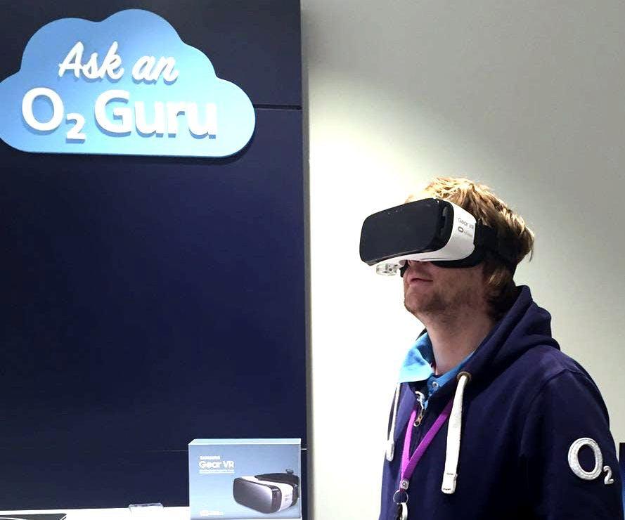 Samsung Gear VR at O2